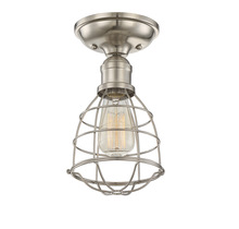 Savoy House 6-4135-1-SN - Scout 1 Light Semi-Flush