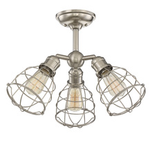 Savoy House 6-4136-3-SN - Scout 3 Light Adjustable Semi-Flush