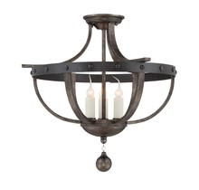 Savoy House 6-9540-3-196 - Alsace 3 Light Semi Flush