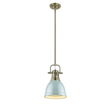 Golden 3604-S AB-SF - Small Pendant with Rod