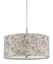 "CAL Lighting FX-3526/1P - 8.25"" Inch Tall Pendant Fixture In Floral"