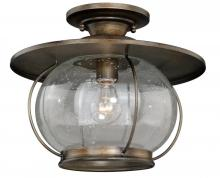 "Vaxcel International C0078 - Jamestown 13-1/2"" Semi-Flush Mount"