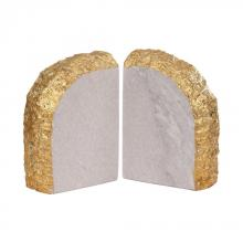 Dimond 8989-026/S2 - Glace Bookends In Gold