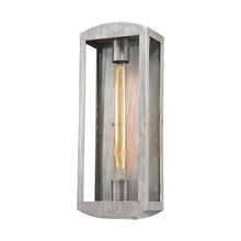 ELK Lighting 45181/1 - Trenton 1 Light Outdoor Wall Sconce In Silvery A