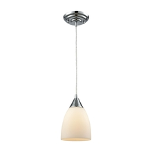 ELK Lighting 56520/1 - Merida 1 Light Pendant In Polished Chrome With W