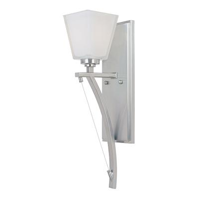 bath sconces on one light chrome bathroom sconce all lite electric