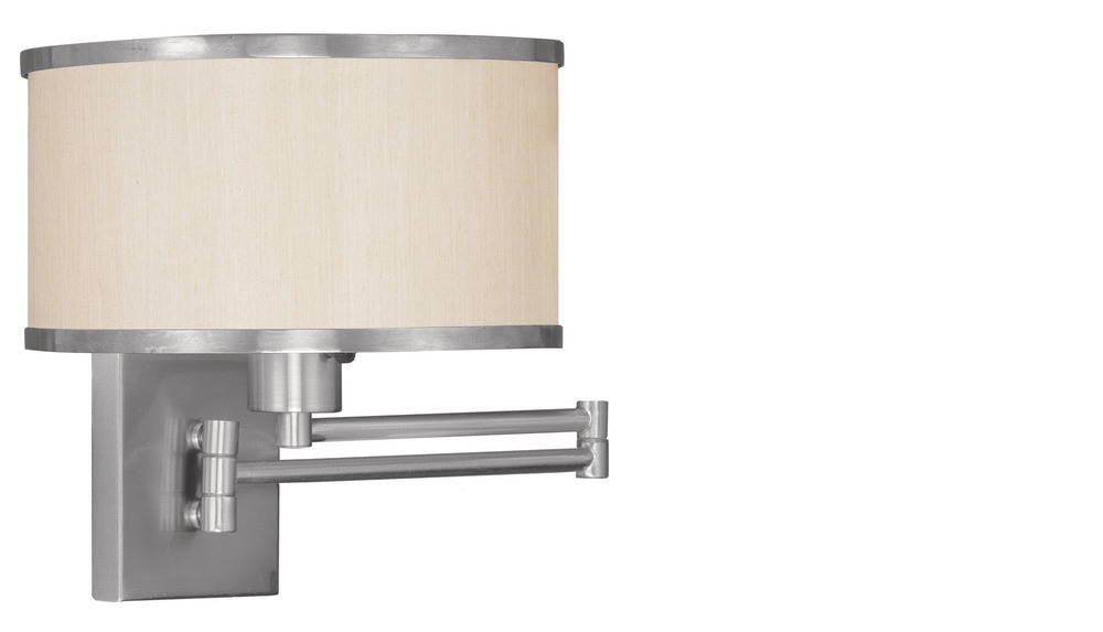 All-Lite Electric in Cleveland, Ohio, United States, Livex Lighting 1EXPM, 1 Light BN Swing Arm Wall Lamp, Park Ridge