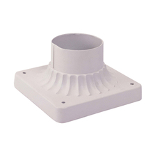 Livex Lighting 7507-03 - White Outdoor Pier Mount Adaptors