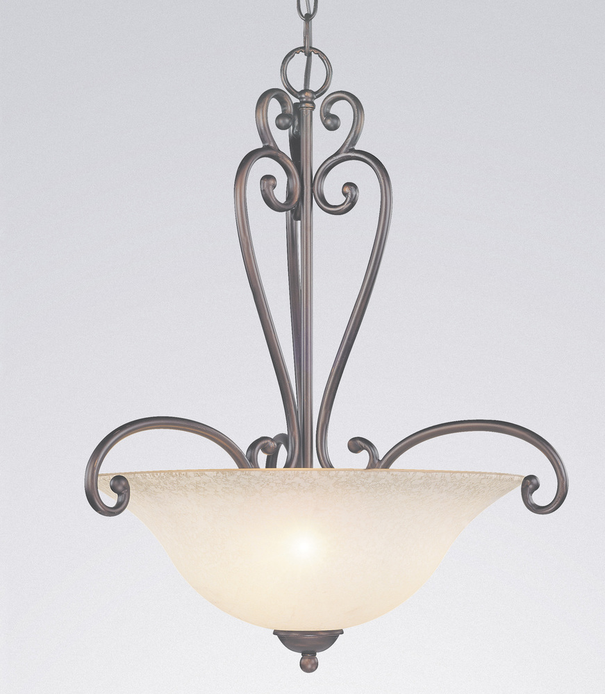 All-Lite Electric in Cleveland, Ohio, United States, Classic 1J7CL, Pendant, Wrought Iron