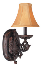 Classic 71131 ORB - One light bronze wall fixture