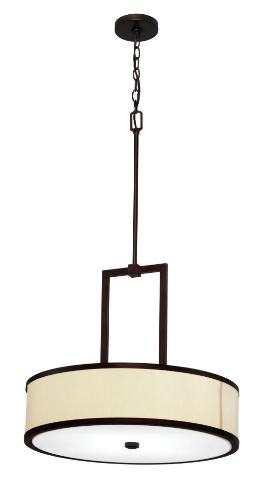 All-Lite Electric in Cleveland, Ohio, United States, Light Concepts (Lithonia) 12ZT1, Bronze Drum Shade Pendant, Linon