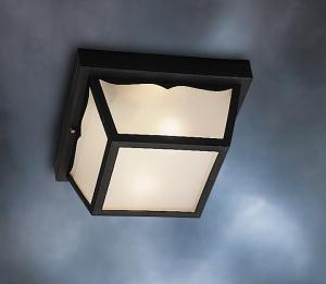 All-Lite Electric in Cleveland, Ohio, United States, Kichler L5H76, Outdoor Ceiling 1Lt, Outdoor Plastic Fixtures