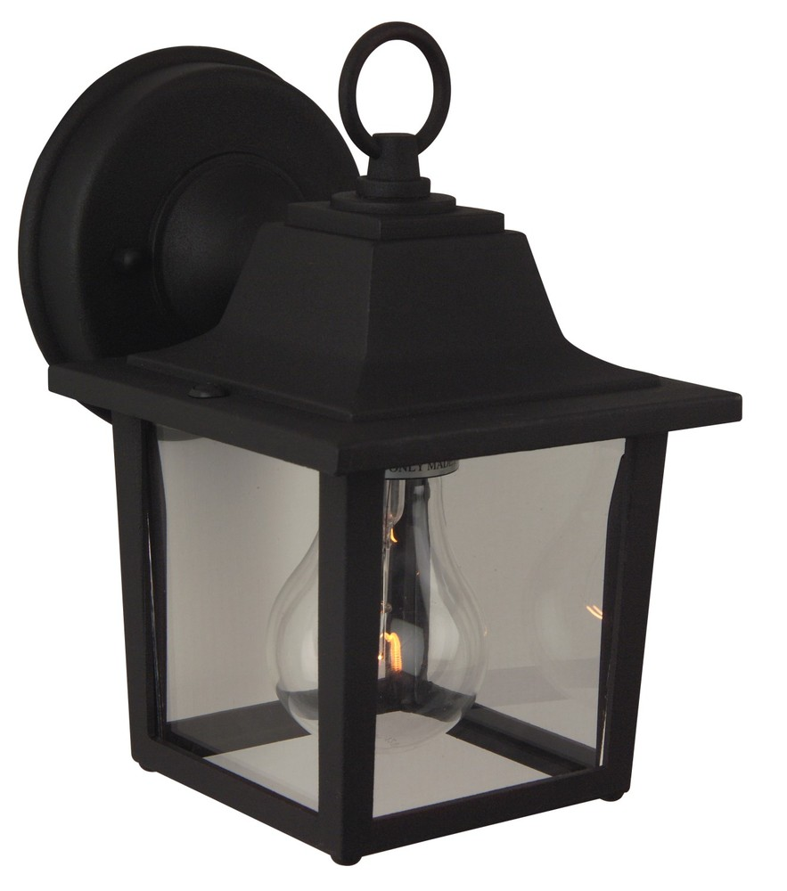 All-Lite Electric in Cleveland, Ohio, United States, Craftmade DW81, Black Wall Lantern,