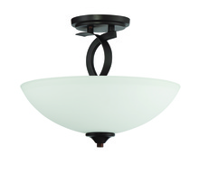 Craftmade 41653-FBZ - Sierra 3 Light Semi Flush in French Bronze