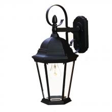 Acclaim Lighting 5412BK - New Orleans Collection Wall-Mount 1-Light Outdoor Matte Black Light Fixture