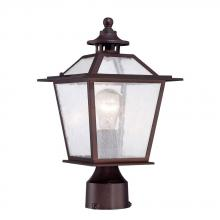 Acclaim Lighting 9707ABZ - Salem Collection Post-Mount 1-Light Outdoor Architectural Bronze light Fixture