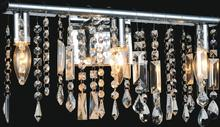 Crystal World 5549W6C - 1 Light Chrome Vanity Light from our Janine collection