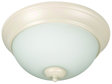 "Jeremiah XP11AW-2W - Pro Builder 2 Light 11"" Flushmount in Antique White"