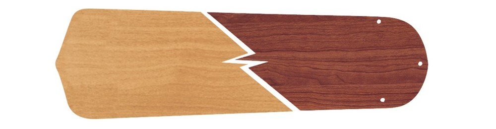 "All-Lite Electric in Cleveland, Ohio, United States, Ellington Fan 50XJF, 52"" Contractor's Standard Blades in Ash/Mahogany, Contractor's Standard"