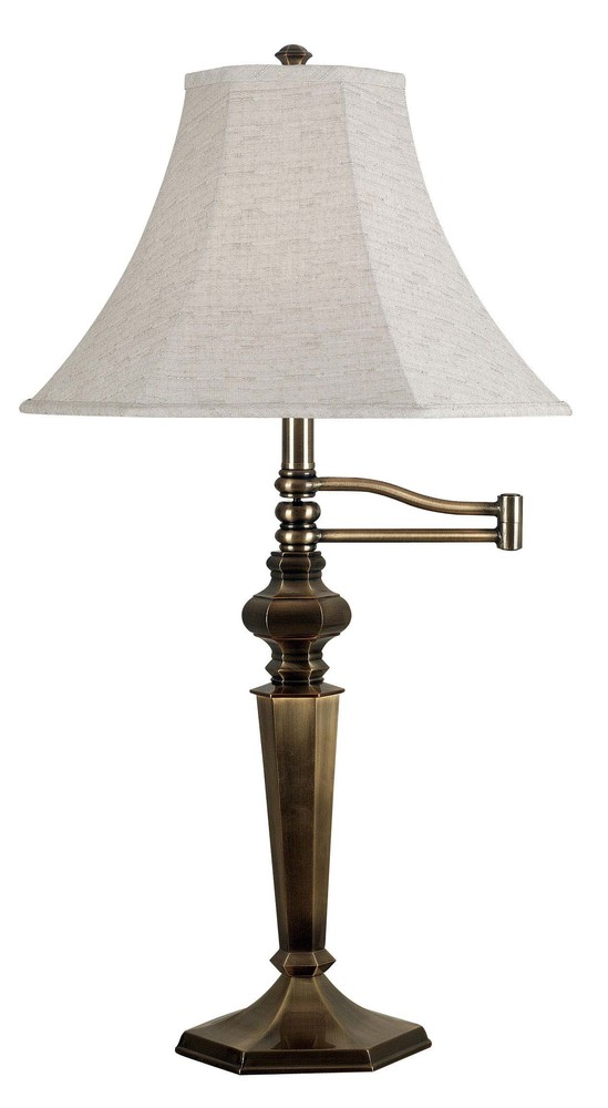 All-Lite Electric in Cleveland, Ohio, United States, Kenroy Home 86HM, Swing Arm Table Lamp, Mackinley