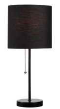 Kenroy Home 32714BL-BLK - Table Tom Black Accent Lamp