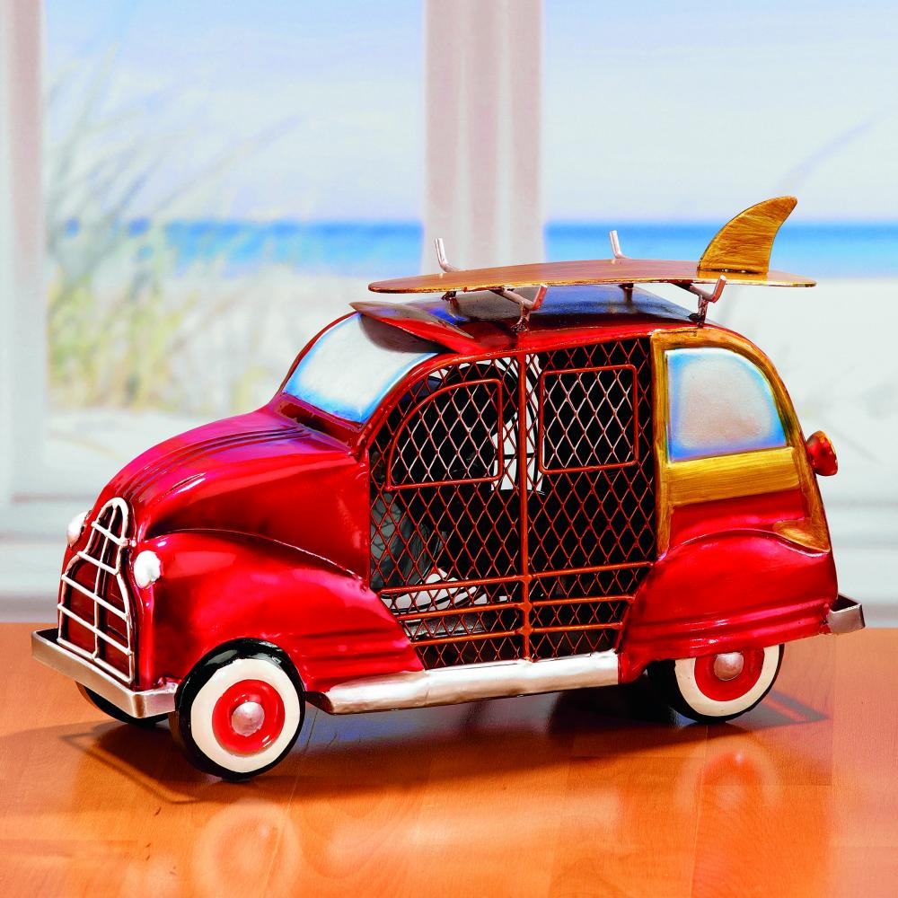 All-Lite Electric in Cleveland, Ohio, United States, Deco Breeze 6UJ9X, Figurine Fan - Woody Car Red,