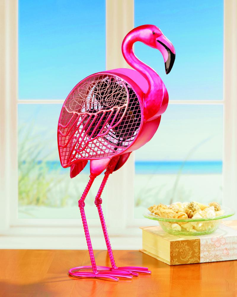 All-Lite Electric in Cleveland, Ohio, United States, Deco Breeze 6UJAT, Figurine Fan - Flamingo,