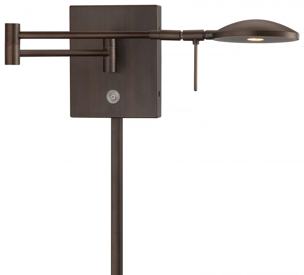 All-Lite Electric in Cleveland, Ohio, United States, Minka George Kovacs FFTE, 1 LIGHT LED SWING ARM WALL LAMP, George's Reading Room
