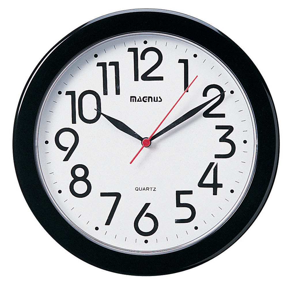 "All-Lite Electric in Cleveland, Ohio, United States, Dainolite 6Y0HT, Magnus -10"" Clock,"