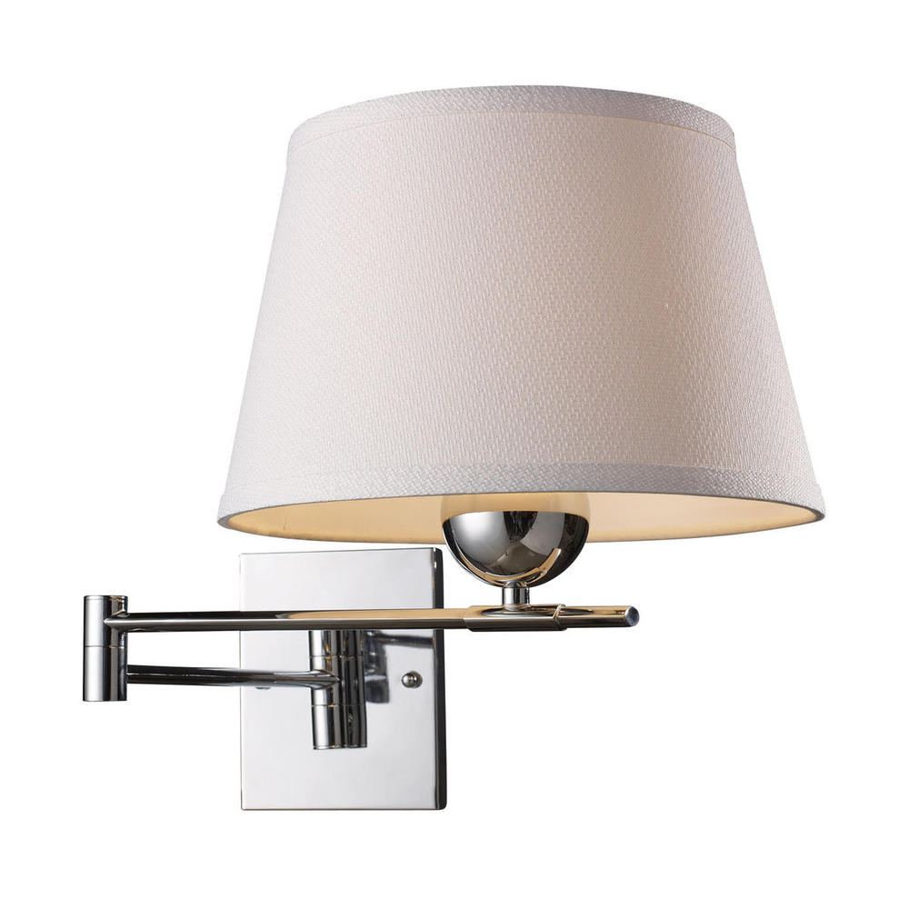 All-Lite Electric in Cleveland, Ohio, United States, ELK Lighting 8VGR, Lanza 1 Light Swing Arm Sconce In Polished Chrom, Lanza